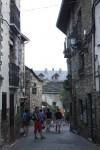 jalan di dalam kota torla –Spanyol