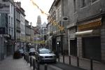 jalanan di pusat kota