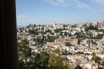 Albaycin dari jendela Alhambra