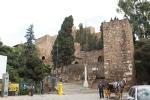 Pintu utama benteng Malaga
