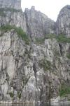 Pulpit Rock dari bawah