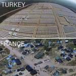camp pengungsi Turki dan Perancis