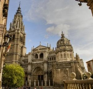 katedral Toledo Spanyol